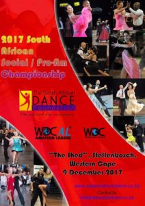 Ballroom & Latin National Pro-Am Championships @ The Shed | Stellenbosch | Western Cape | South Africa