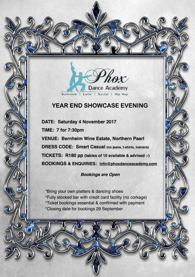 Year End Showcase Evening - SOLD OUT - Phox Dance Academy