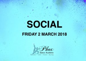 Social Evening @ Phox Dance Academy | Paarl | Western Cape | South Africa