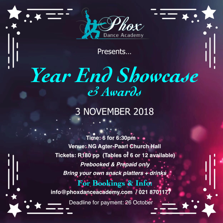 2018 Showcase & Awards