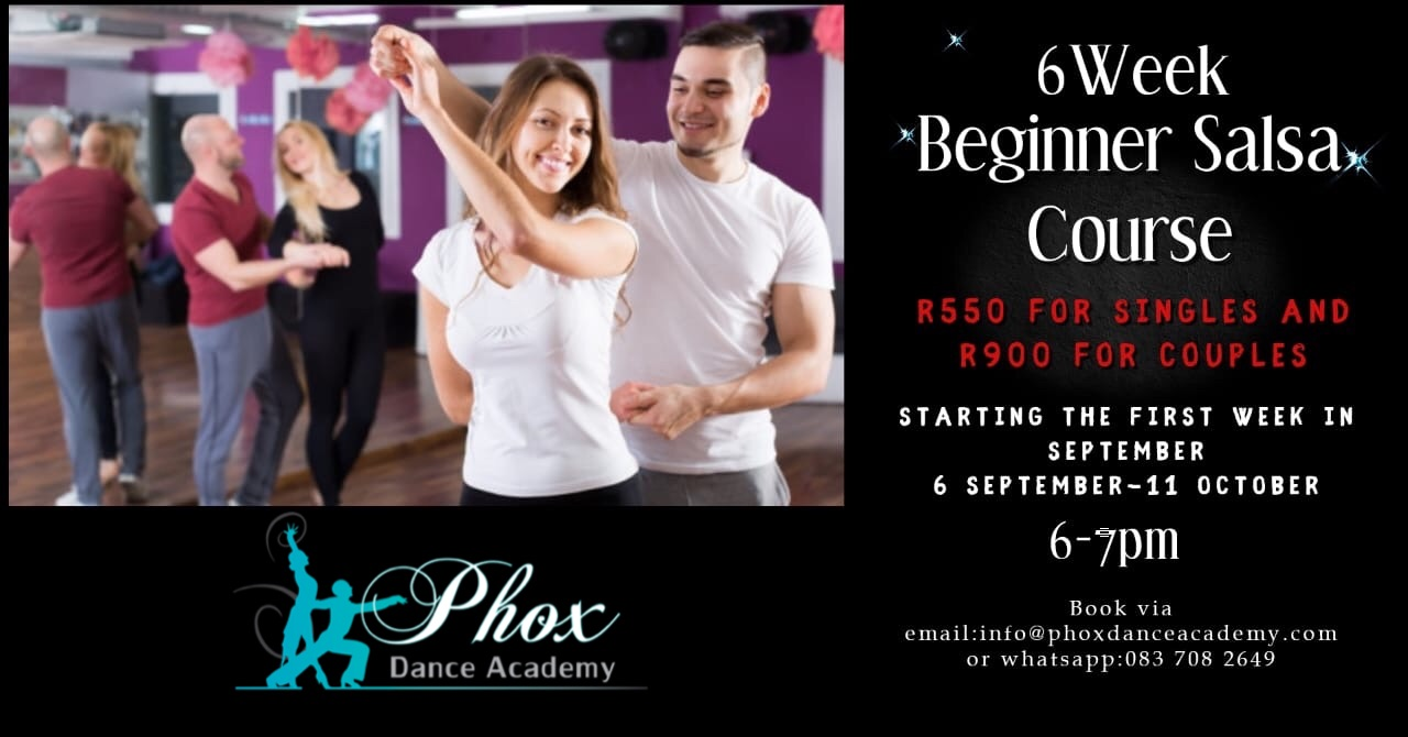 salsa course 6 weeks
